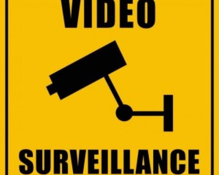 Sistema de segurança com videocameras