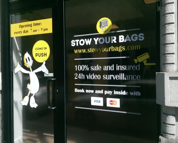 Stow your bags - Entrance | MILAN | VIA PERGOLESI | RAILWAY STATION