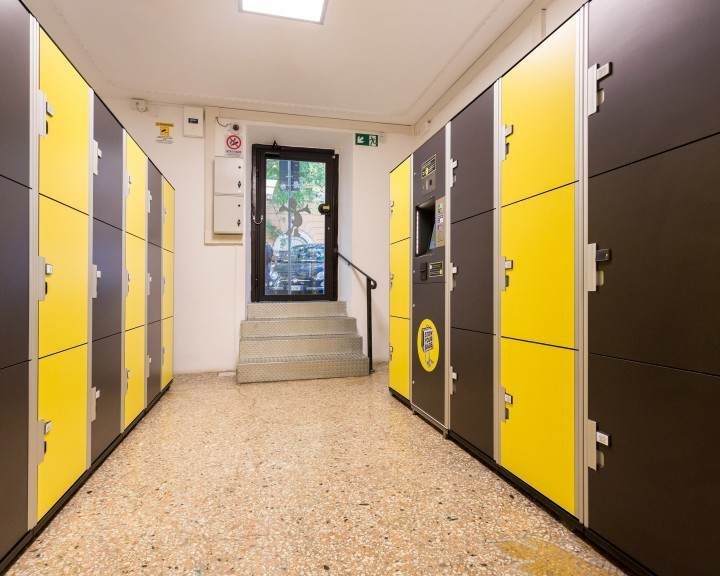 Stow your bags - Lockers | ROME | VIA GERMANICO | VATICAN MUSEUMS