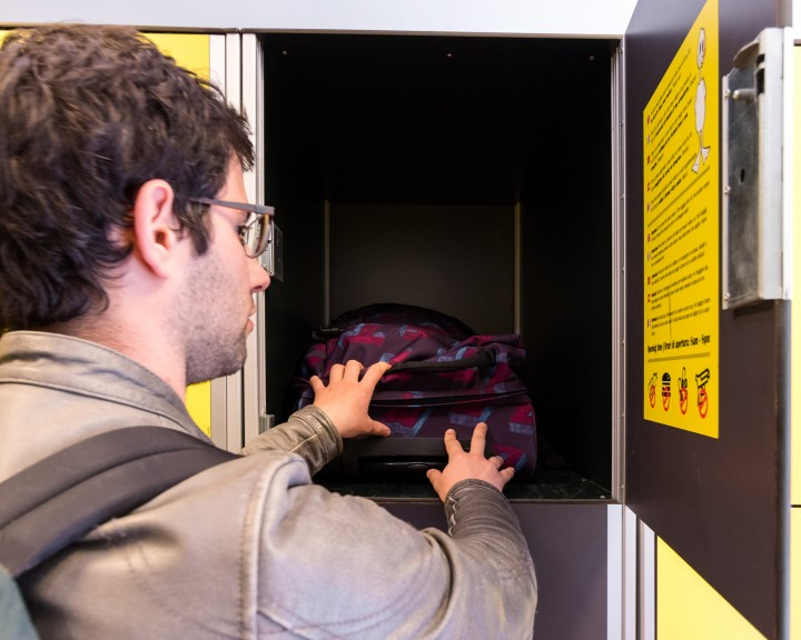 Depósito maletas Termini Estacion de Tren