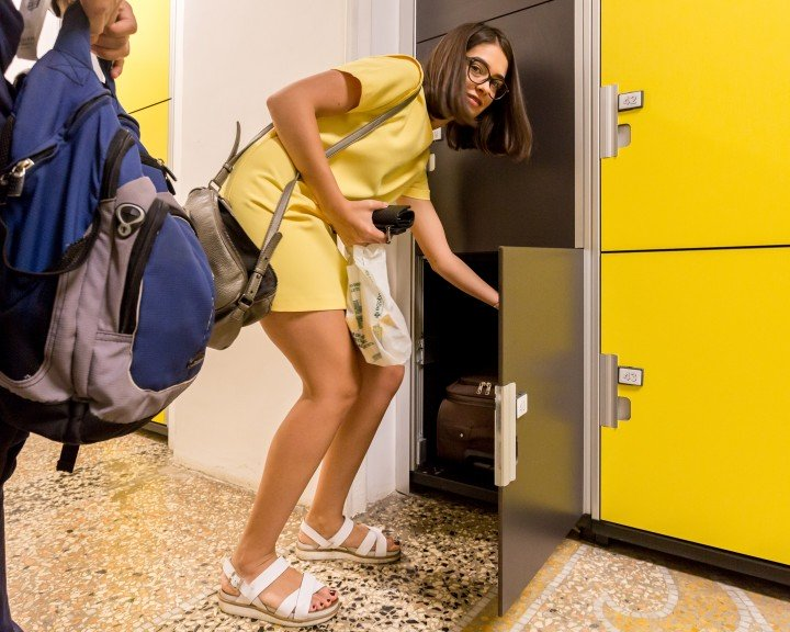 Stow your bags - Lockers | NAPLES | Via Venezia 64 | Naples Central Train Station