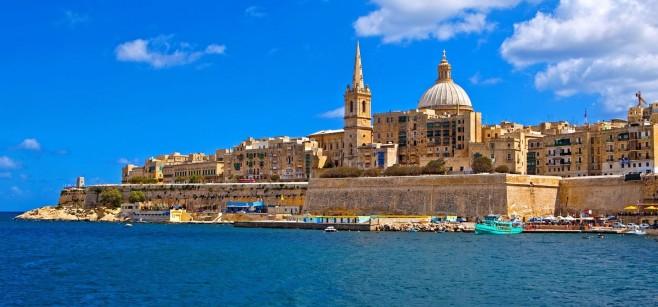 Malta - Valletta City Gate